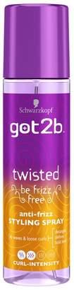 Schwarzkopf got2b Twisted Curl-Intensity Styling Spray 200ml