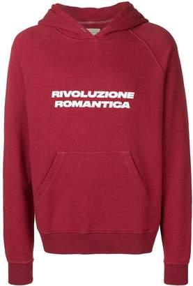 Paura 'Revolucione Romantica' printed hoodie