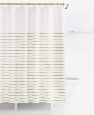 Kate Spade Harbour Stripe Shower Curtain Bedding