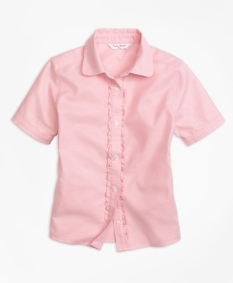 Brooks Brothers Non-Iron Short-Sleeve Oxford