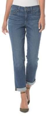 NYDJ Faded Boyfriend Jeans