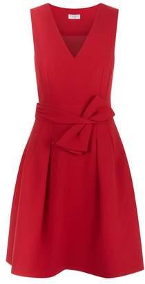 Claudie Pierlot Bow Waist A-Line Dress