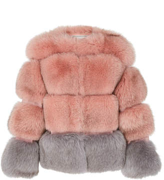 Pologeorgis Sybil Horizontal Fur Coat