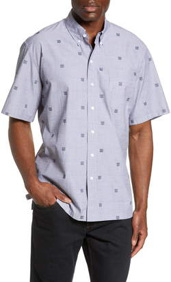 Reyn Spooner Jacquard Tapa Short Sleeve Button-Down Shirt