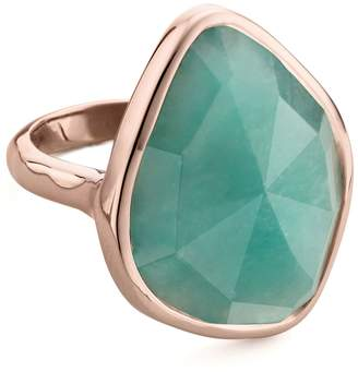 Monica Vinader Siren Nugget Amazonite Cocktail Ring