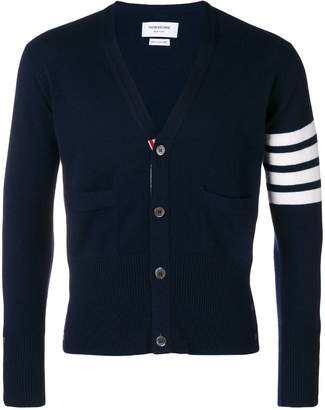 Thom Browne striped sleeve cardigan