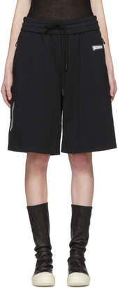 Off-White Off White Black Basic Logo Lounge Shorts