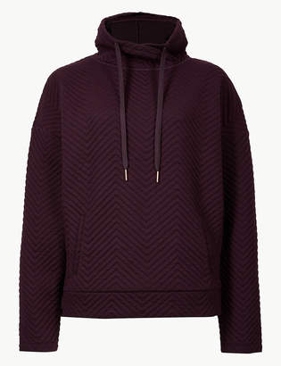 Marks and Spencer Quick Dry Long Sleeve Sweatshirt