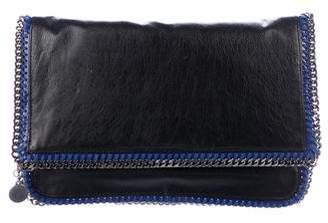 Stella McCartney Falabella Fold-Over Galway Clutch