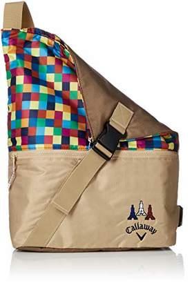 Callaway (キャロウェイ) - [キャロウェイ アパレル]ショルダーバッグ (ポリエステルオックスシリーズ) [ 241-8281505 / SHOULDER BAG ] 斜め掛け ゴルフ 040_ベージュ