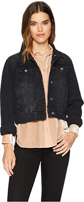 a44ba425d62a Free People Black Jacket - ShopStyle
