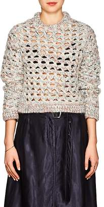 Missoni Women's Open-Knit Alpaca-Blend Crewneck Sweater