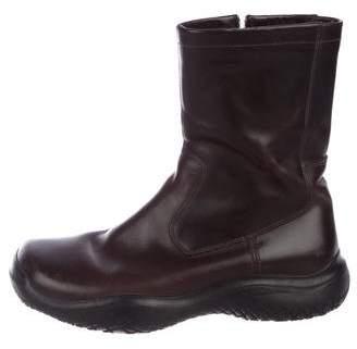 Prada Sport Leather Tall Boots