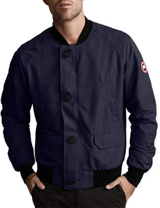 Canada Goose Men's Faber Button-Front Bomber Jacket