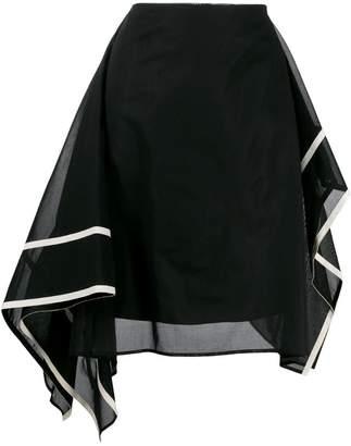 Pierantonio Gaspari Pierantoniogaspari asymmetric mini skirt