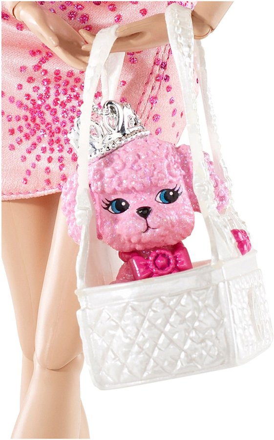 Barbie Fashionistas Swappin' Styles Glam Doll and Pet