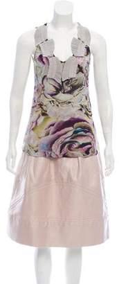 Christian Lacroix Printed Knee-Length Skirt Set