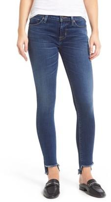 Women's Hudson Jeans Colette Step Hem Skinny Jeans $198 thestylecure.com