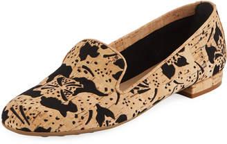 Sesto Meucci Kandi Flower Cork Loafer