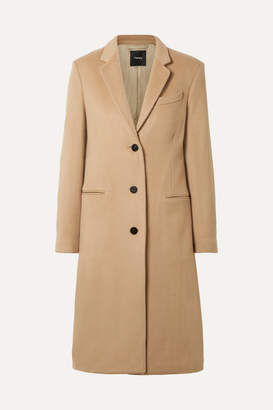 Theory Cashmere Coat - Sand