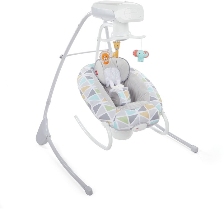 Fisher Price Fisher-Price 2-in-1 Deluxe Cradle 'n Swing