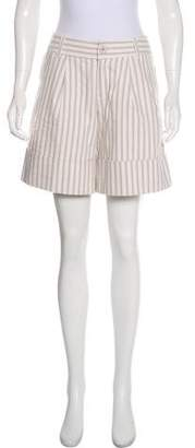 Marc by Marc Jacobs Mid-Rise Striped Shorts