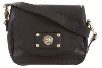 Gianni Versace Leather-Trimmed Crossbody Bag
