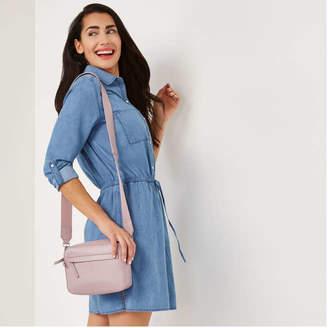 Joe Fresh Women's Crossbody Bag, Lilac (Size O/S)