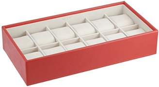 Wolf 309942 Stackable 12 Piece Watch Tray