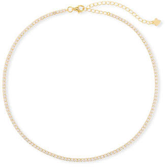 Fallon Micro Pavé Choker Necklace