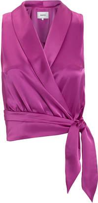 Nanushka Silo Wrap Top
