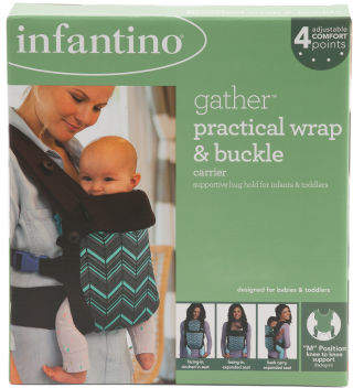 Gather Practical Wrap & Buckle Carrier