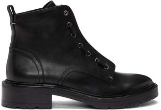 Rag & Bone Black Cannon Boots