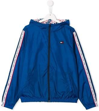 Tommy Hilfiger Junior TEEN reversible hooded parka