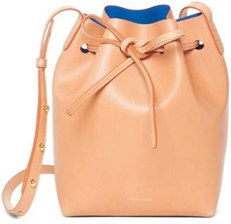 Mansur Gavriel Cammello Mini Bucket Bag - Royal