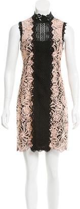 Nanette Lepore Lace Mini Dress w/ Tags $165 thestylecure.com
