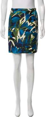 Dries Van Noten Printed Pencil Skirt