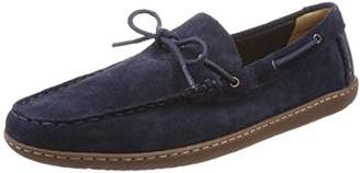 Clarks Men's's Saltash Edge Loafers Blue (Navy Suede -)