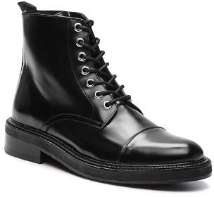 The Kooples Men's Commando Lace-Up Leather Boots
