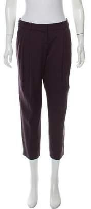 Celine Wool Mid-Rise Pants