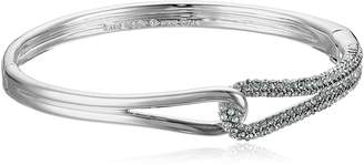 Kate Spade Pave Loop -Tone Bangle Bracelet