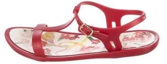 Dolce & Gabbana Girls' T-Strap Sandals