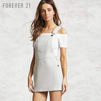 Forever 21 (フォーエバー 21) - Forever 21 フレンチテリーサロペットワンピース