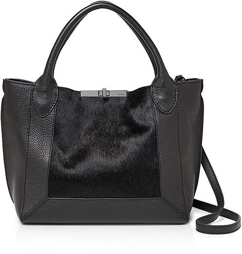 Botkier Perry Small Calf Hair & Leather Tote