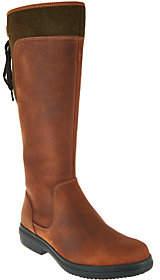 Clarks Artisan Leather Waterproof Tall Boots -Tavoy Cedar