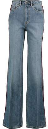 Marc by Marc Jacobs Faded High-Rise Bootcut Jeans