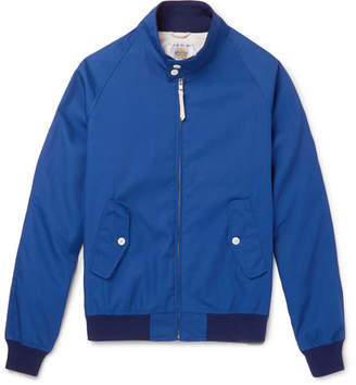 GoldenBear Golden Bear - Poplin Blouson Jacket - Men - Blue
