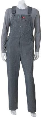 Dickies Men's Striped Bib Overalls