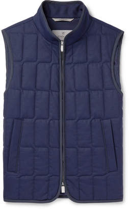 Canali Quilted Wool Gilet