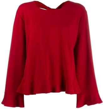 Stella McCartney frill trim blouse